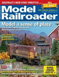 Model Railroader – March 2021