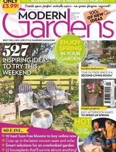 Modern Gardens – February 2021