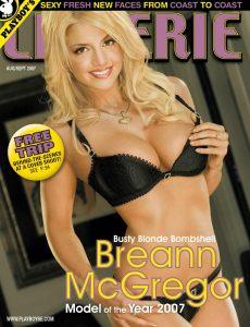 Playboy's Lingerie – August-September 2007