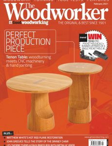 The Woodworker & Woodturner – February 2021