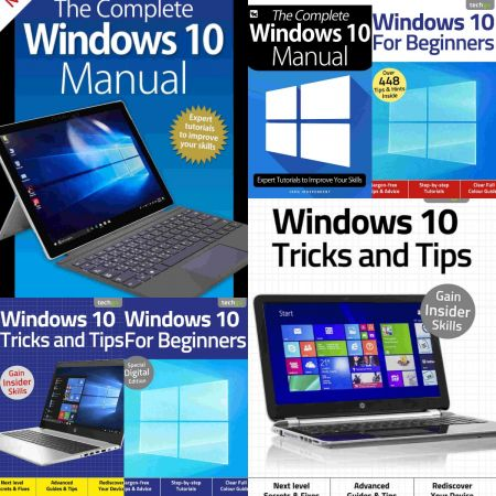 Windows 10 The Complete Manual,Tricks And Tips,For Beginners – Full Year 2020 Collection