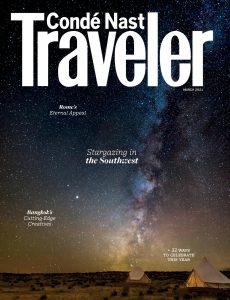 Conde Nast Traveler USA – March 2021