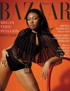 Harper's Bazaar USA – March 2021