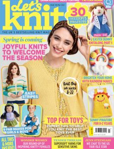 Let's Knit – Issue 168 – March 2021