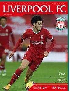 Liverpool FC Programmes – Liverpool vs Everton – 20 February 2021