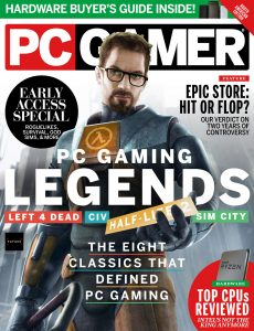 PC Gamer USA – April 2021