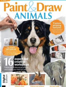 Paint & Draw Animals – First Edition, 2021