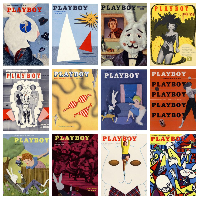 Playboy – Full Year 1954 Issues Collection
