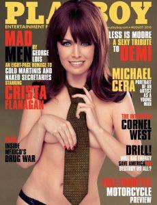 Playboy Usa – August 2010