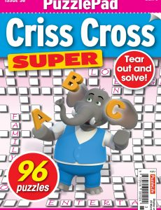 PuzzleLife PuzzlePad Criss Cross Super – 25 February 2021