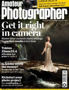 Amateur Photographer – 20 March 2021