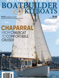 Australian Amateur Boat Builder – Issue 113 – April-May-June 2021