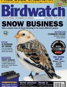 Birdwatch UK – Issue 343 – January 2021