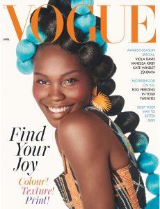 British Vogue – April 2021