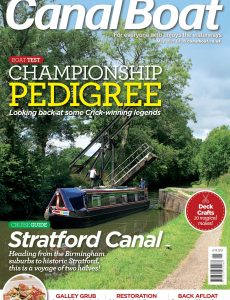 Canal Boat – May 2021