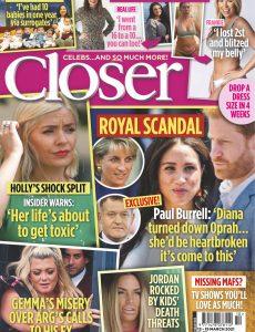 Closer UK – 17 March 2021