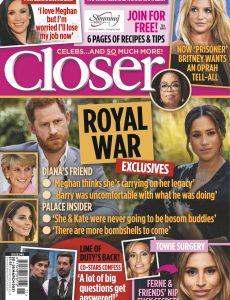 Closer UK – 24 March 2021