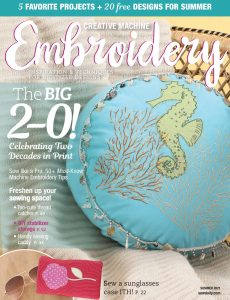 Creative Machine Embroidery – March 2021