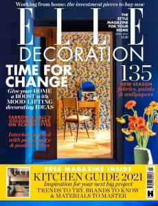 Elle Decoration UK – April 2021