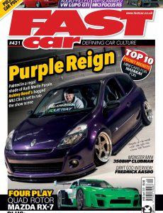 Fast Car – April 2021