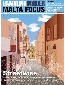 Gambling Insider – Malta Focus – March-April 2021