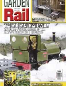 Garden Rail – Issue 319 – March 2021