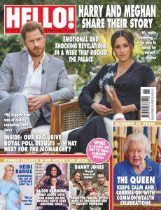 Hello! Magazine UK – 15 March 2021