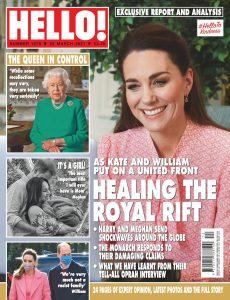 Hello! Magazine UK – 22 March 2021