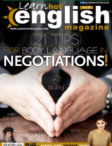 Learn Hot English – Issue 224 – January 2021