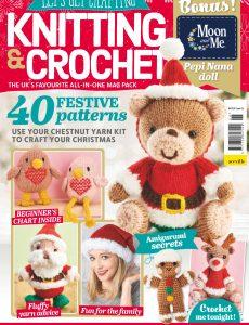 Let's Get Crafting Knitting & Crochet – Issue 126 – November 2021