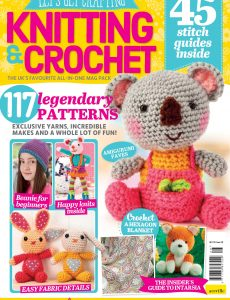 Let's Get Crafting Knitting & Crochet – Issue 128 – January 2021