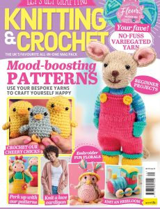 Let's Get Crafting Knitting & Crochet – Issue 129 – February 2021