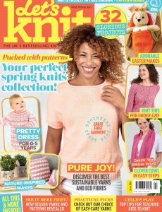 Let's Knit – Issue 169 – April 2021