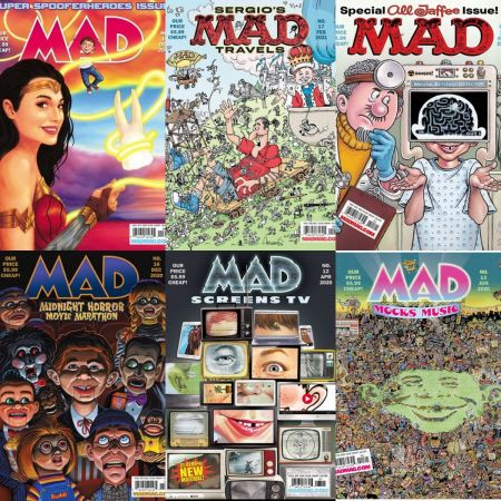 MAD Magazine – Full Year 2020 Issues Collection