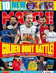 Match! – March 30, 2021