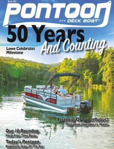 Pontoon & Deck Boat – March 2021