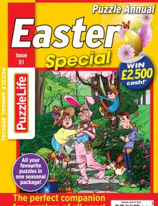 PuzzleLife Puzzle Annual Special – 11 March 2021