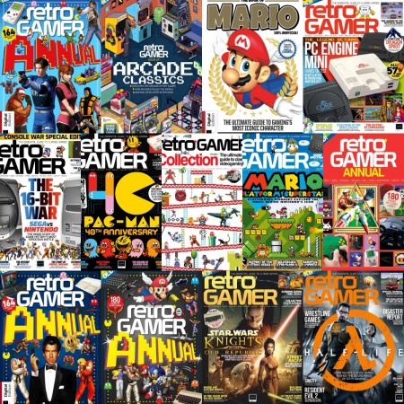 Retro Gamer UK – Full Year 2020 Issues Collection