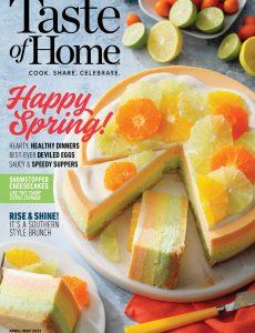 Taste of Home – April-May 2021
