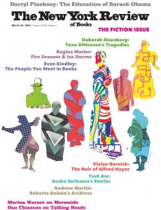 The New York Review of Books – March 25, 2021