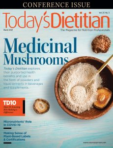 Today's Dietitian – March 2021