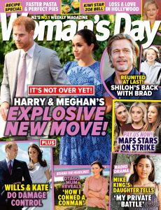 Woman's Day New Zealand – March 25, 2021