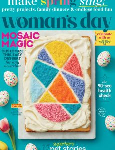 Woman's Day USA – April 2021