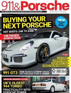 911 & Porsche World – Issue 322 – May 2021