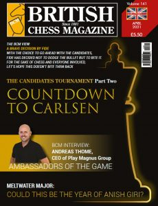 British Chess Magazine – April 2021