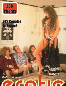 Erotics From The 70s Adult Photo Magazine – April 2021