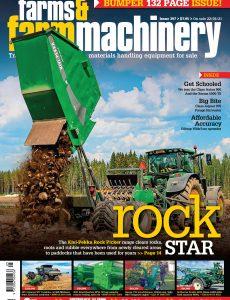 Farms and Farm Machinery – April 2021
