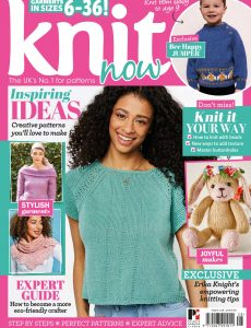 Knit Now – Issue 128 – April 2021