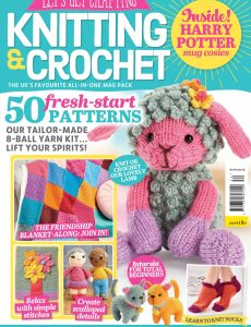 Let's Get Crafting Knitting & Crochet – Issue 130 – April 2021