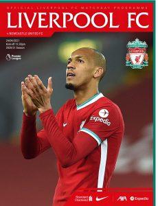 Liverpool FC Programmes – vs Newcastle United – 24 April 2021